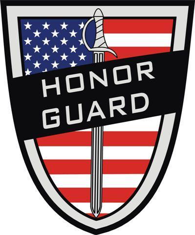 Honor Guard Logo Flag
